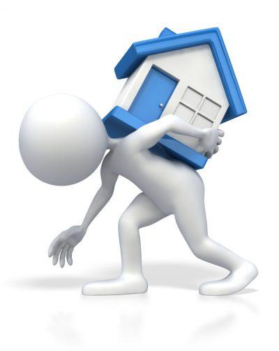 Die Kosten eines Immobilienkaufs schultern
