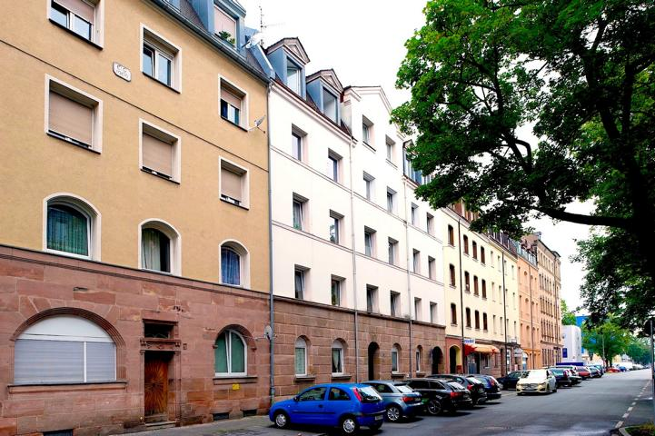 Platenstraße in Nürnberg