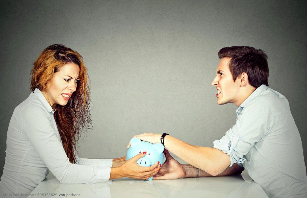 Finanzierung von Scheidungskosten